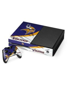 Minnesota Vikings Xbox One Console and Controller Bundle Skin