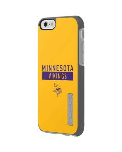 Minnesota Vikings Yellow Performance Series Incipio DualPro Shine iPhone 6 Skin