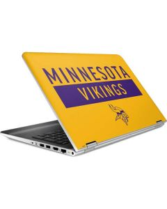 Minnesota Vikings Yellow Performance Series HP Pavilion Skin