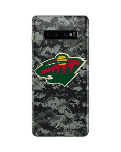 Minnesota Wild Camo Galaxy S10 Plus Skin