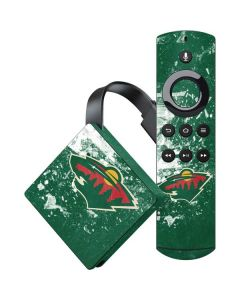 Minnesota Wild Frozen Amazon Fire TV Skin
