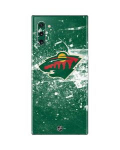 Minnesota Wild Frozen Galaxy Note 10 Skin