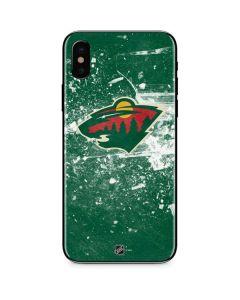 Minnesota Wild Frozen iPhone XS Skin