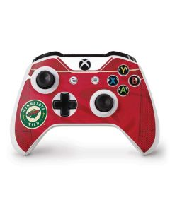 Minnesota Wild Home Jersey Xbox One S Controller Skin