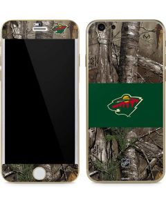 Minnesota Wild Realtree Xtra Camo iPhone 6/6s Skin