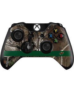 Minnesota Wild Realtree Xtra Camo Xbox One Controller Skin