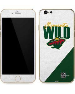 Minnesota Wild Script iPhone 6/6s Skin