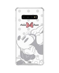 Minnie Mouse Daydream Galaxy S10 Plus Clear Case