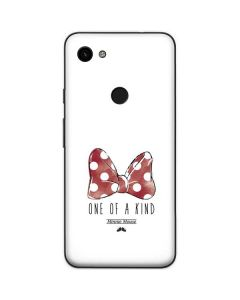Minnie Mouse One Of A Kind Google Pixel 3a Skin