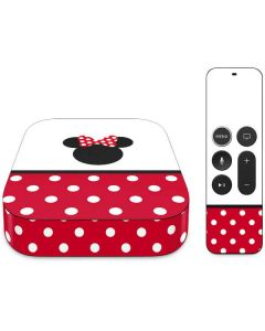 Minnie Mouse Symbol Apple TV Skin