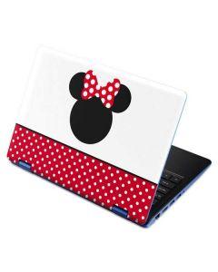 Minnie Mouse Symbol Aspire R11 11.6in Skin