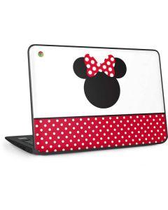 Minnie Mouse Symbol HP Chromebook Skin