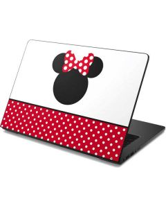 Minnie Mouse Symbol Dell Chromebook Skin