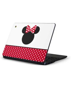 Minnie Mouse Symbol Samsung Chromebook Skin