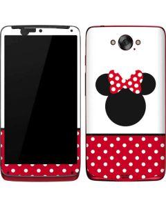 Minnie Mouse Symbol Motorola Droid Skin