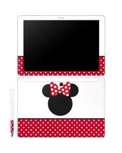 Minnie Mouse Symbol Galaxy Book 12in Skin