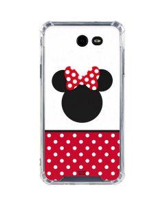 Minnie Mouse Symbol Galaxy J7 (2017) Clear Case