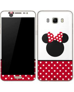 Minnie Mouse Symbol Galaxy J7 Skin