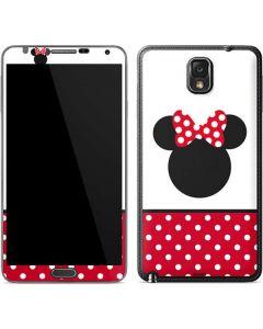 Minnie Mouse Symbol Galaxy Note 3 Skin