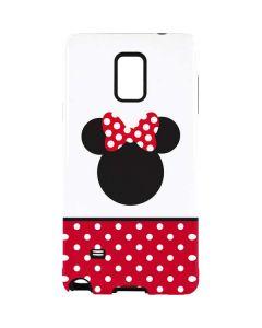 Minnie Mouse Symbol Galaxy Note 4 Pro Case