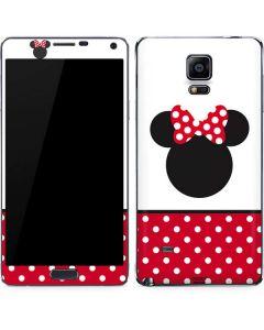 Minnie Mouse Symbol Galaxy Note 4 Skin