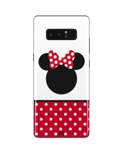 Minnie Mouse Symbol Galaxy Note 8 Skin