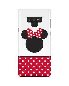 Minnie Mouse Symbol Galaxy Note 9 Lite Case