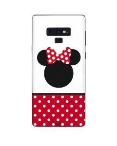 Minnie Mouse Symbol Galaxy Note 9 Skin