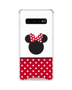 Minnie Mouse Symbol Galaxy S10 Clear Case