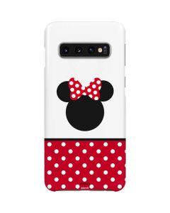 Minnie Mouse Symbol Galaxy S10 Lite Case
