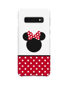 Minnie Mouse Symbol Galaxy S10 Plus Lite Case