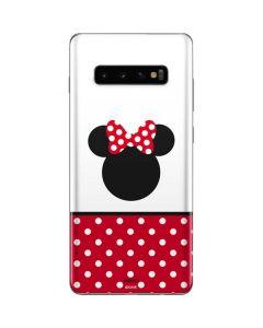Minnie Mouse Symbol Galaxy S10 Plus Skin