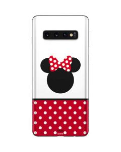 Minnie Mouse Symbol Galaxy S10 Skin