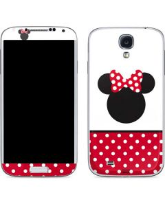 Minnie Mouse Symbol Galaxy S4 Skin