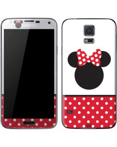 Minnie Mouse Symbol Galaxy S5 Skin