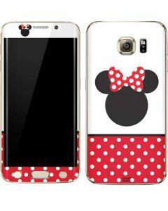 Minnie Mouse Symbol Galaxy S6 edge+ Skin