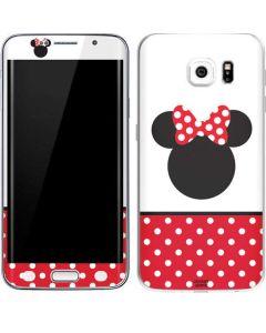 Minnie Mouse Symbol Galaxy S6 Edge Skin
