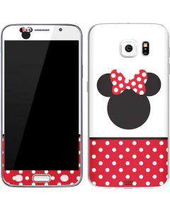 Minnie Mouse Symbol Galaxy S6 Skin