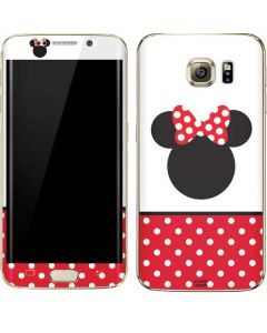 Minnie Mouse Symbol Galaxy S7 Edge Skin