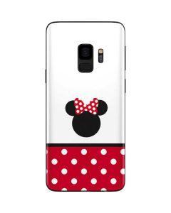 Minnie Mouse Symbol Galaxy S9 Skin