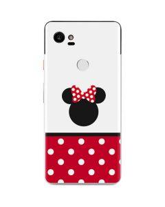 Minnie Mouse Symbol Google Pixel 2 XL Skin