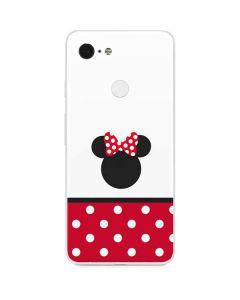 Minnie Mouse Symbol Google Pixel 3 Skin