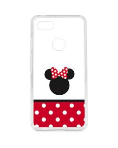 Minnie Mouse Symbol Google Pixel 3 XL Clear Case