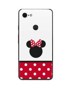 Minnie Mouse Symbol Google Pixel 3 XL Skin