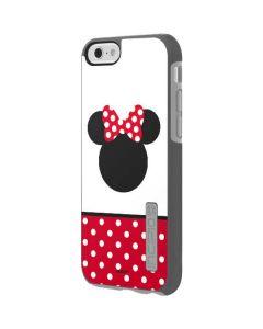 Minnie Mouse Symbol Incipio DualPro Shine iPhone 6 Skin
