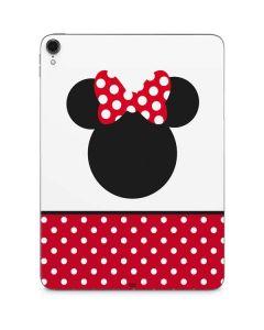 Minnie Mouse Symbol Apple iPad Pro Skin