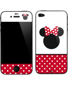 Minnie Mouse Symbol iPhone 4&4s Skin