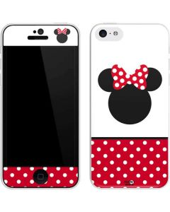 Minnie Mouse Symbol iPhone 5c Skin