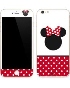 Minnie Mouse Symbol iPhone 6/6s Plus Skin