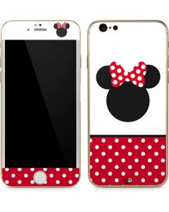Minnie Mouse Symbol iPhone 6/6s Skin